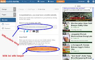 url mobile blog