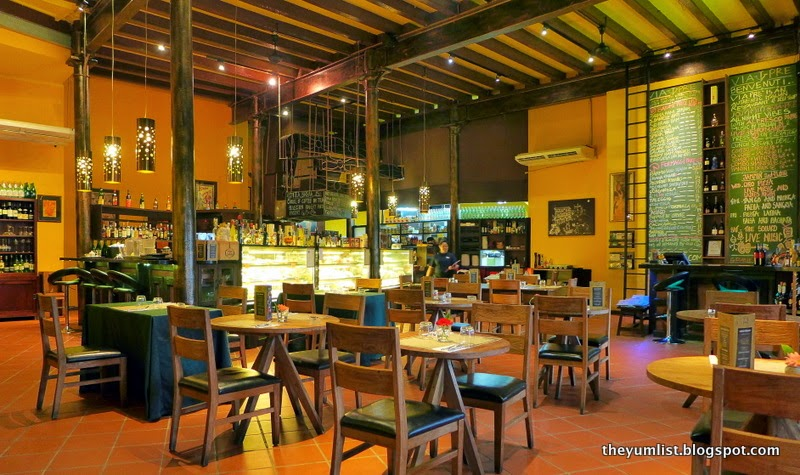 Via Pre, Tavern on the Harbour, Italian Restaurant, George Town, Penang