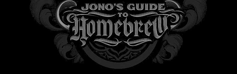 Jono's Guide to Homebrew