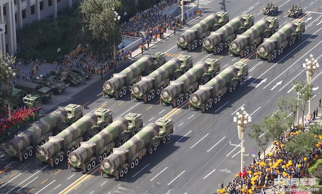China Military Reveals Plans For Nuclear Attack On America