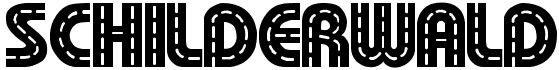 schilderwald tipografías de bordados