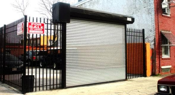 Jual Beli Rolling Door & Folding Gate Perforated Bekas Murah Surabaya
