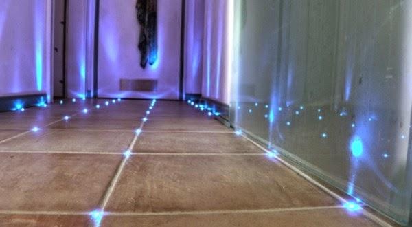 Awesome Indirekte LED Beleuchtung Im Badezimmer Decke Und Boden