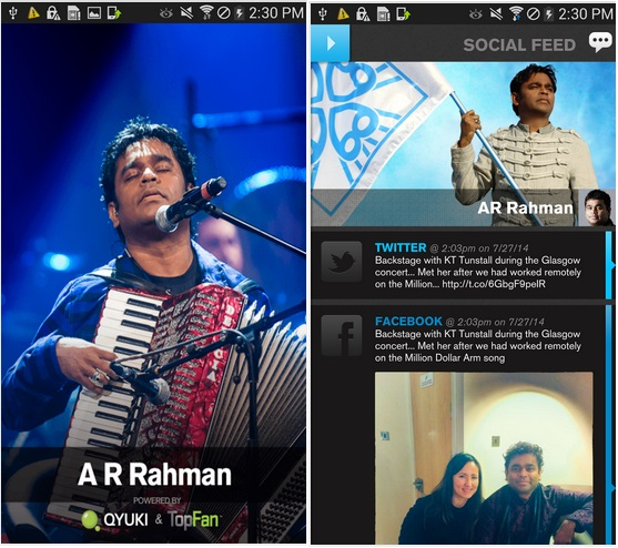 Download A.R.Rahman Official App Available for Android and iOS