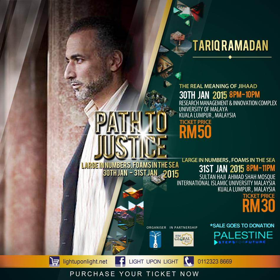 Prof Tariq Ramadan Datang ke Malaysia 30 31 Januari 1 Februari 2015