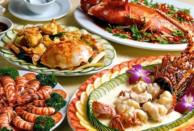 Các nhà hàng hải sản - Lẩu hải sản ngon ở Hà Nội