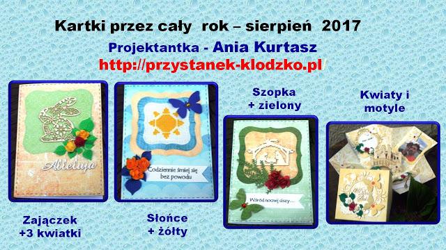 Kartki u Ani- sierpień 2017r