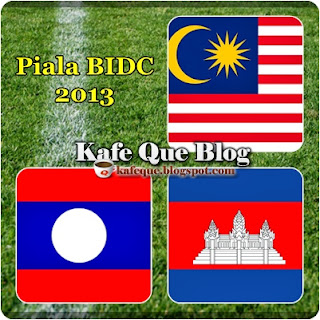 KUMPULAN PIALA BIDC 2013 MALAYSIA B23, HARIMAU MUDA KUMPULAN MANA PIALA BIDC 2013