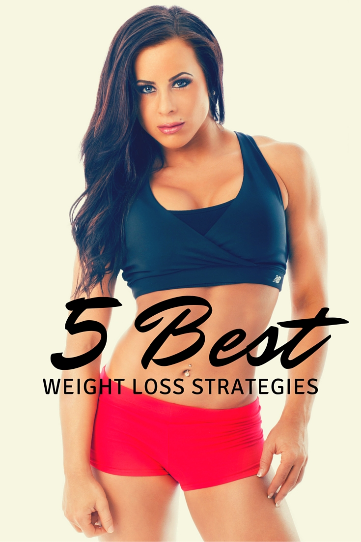 best weight loss strategies