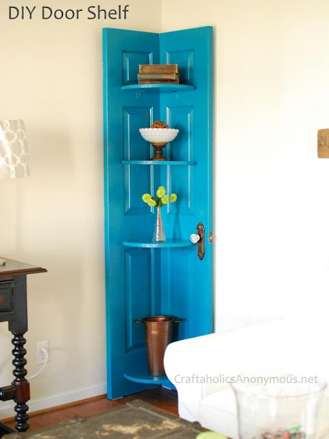 Creative and Cool Ways to Reuse Old Doors (18) 8