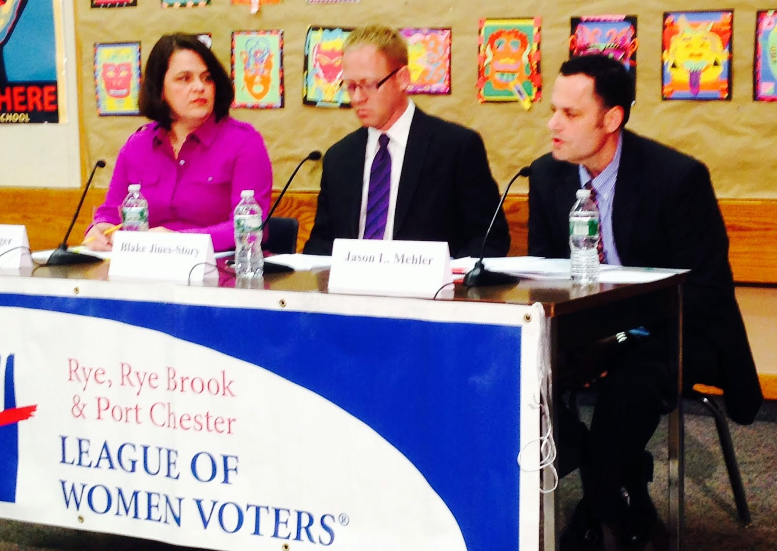 RYE SCHOOL BOARD CANDIDATES FORUM