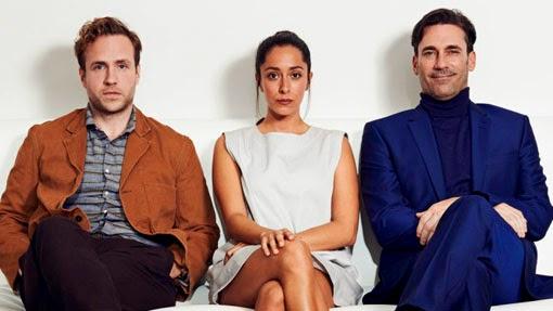 Jon Hamm, Oona Chaplin y Rafe Spall estarán en Black Mirror