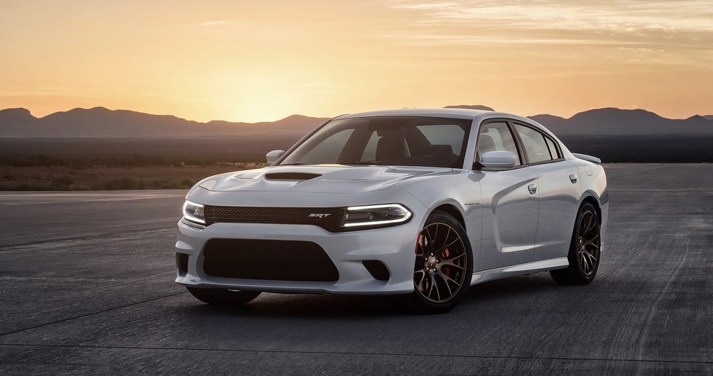 2015 Dodge Charger SRT Hellcat white