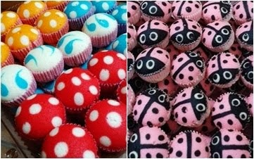 Apam Polkadot/ Ladybug/ Bee Pelbagai Filling