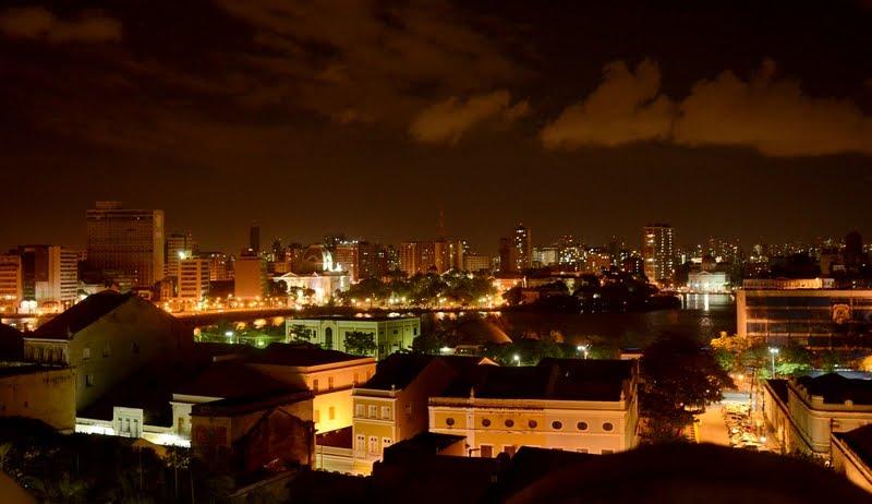 Noite no Recife Antigo