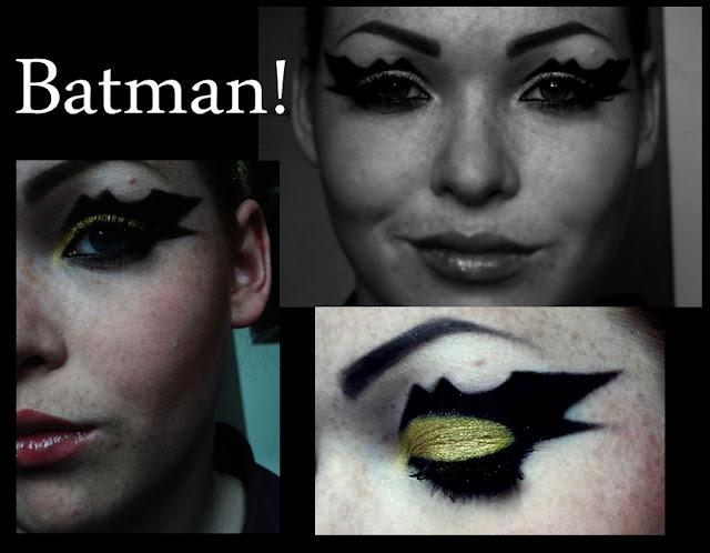 Batman inspired make up