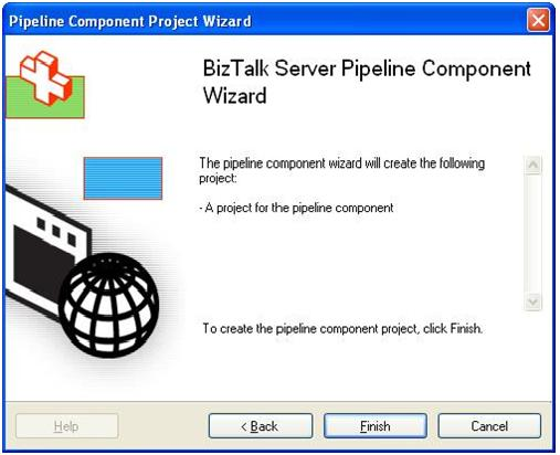 how to develop biztalk custom pipeline components