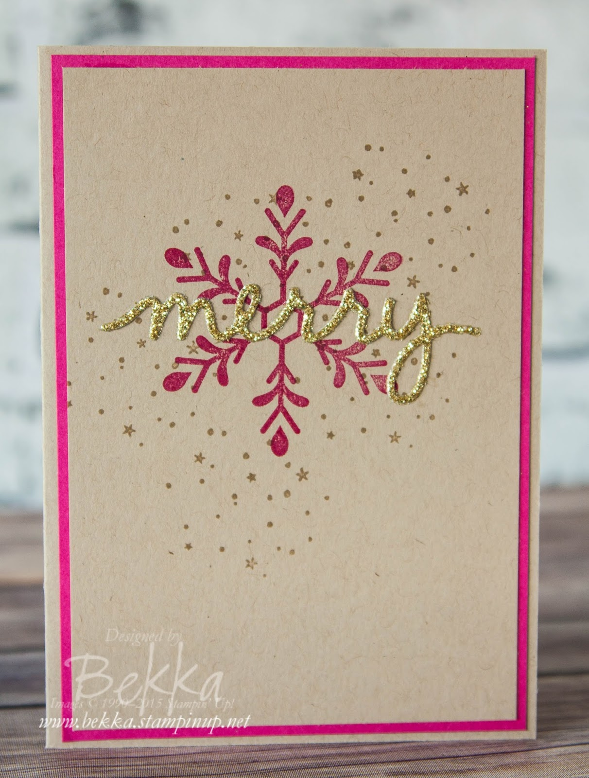 Stampin Up Uk Feeling Crafty Bekka Prideaux Stampin Up Uk