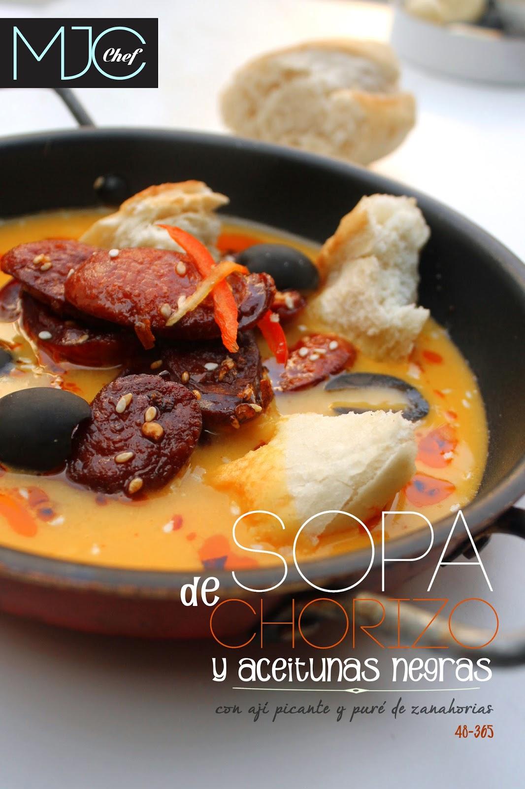 Sopa de chorizo