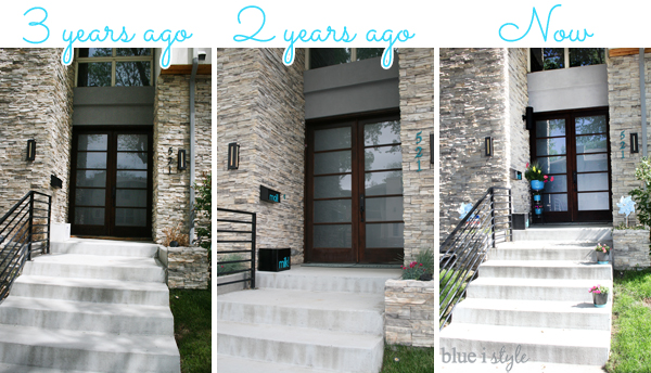 Front porch makeover...from drab to fab