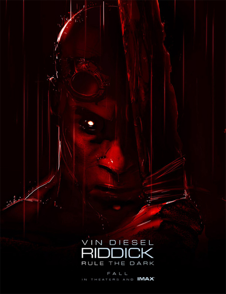 Riddick: poster imax