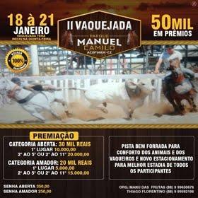 II Grande Vaquejada do Parque Manuel Camilo de Acopiara