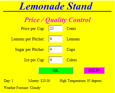 lemonade stand game report Sgt report is the corporate propaganda antidote providing exclusive original content and interviews with some of the best known voices in the world of economics and precious metals sgt report is your daily source for truth in a time of universal deceit.