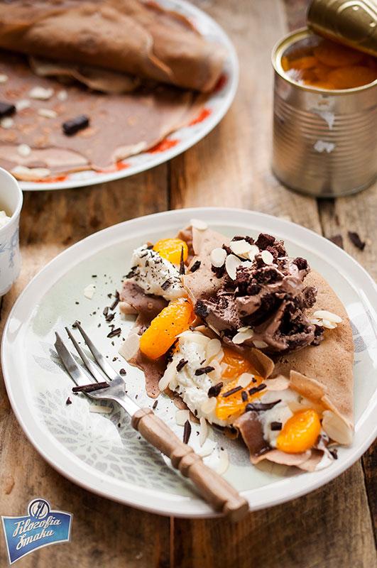 Lody czekoladowe z brownie
