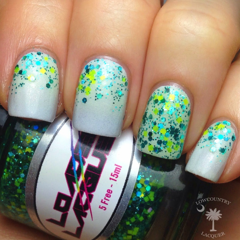 Shark Week Inspired Nail Art | Lowcountry Lacquer