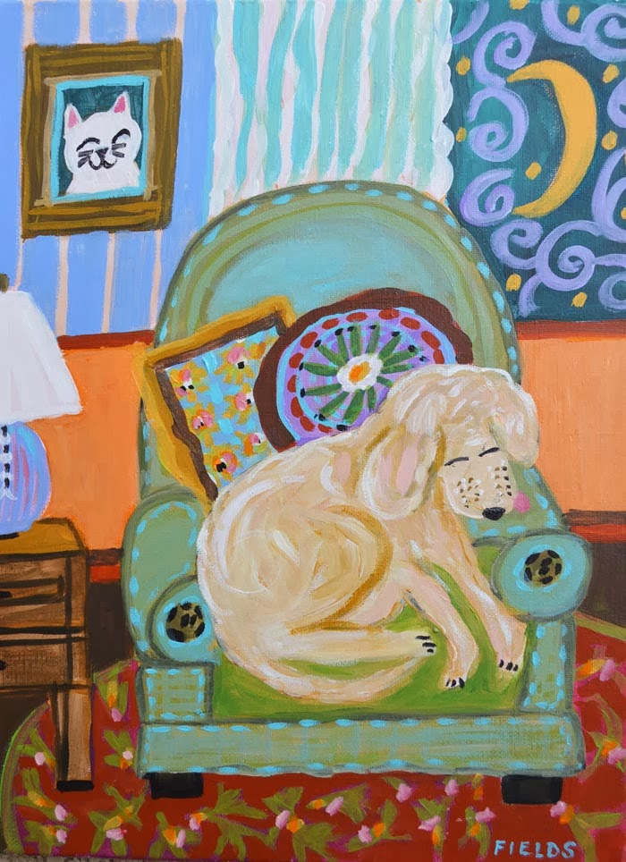https://www.etsy.com/listing/179081772/baby-boy-nursery-dog-art-painting
