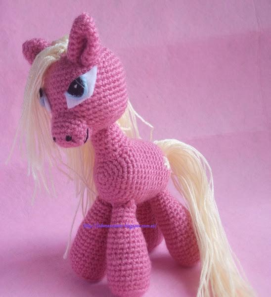 Pequeno Pony Amigurumi Patron : my little pony Aprender manualidades es facilisimo.com