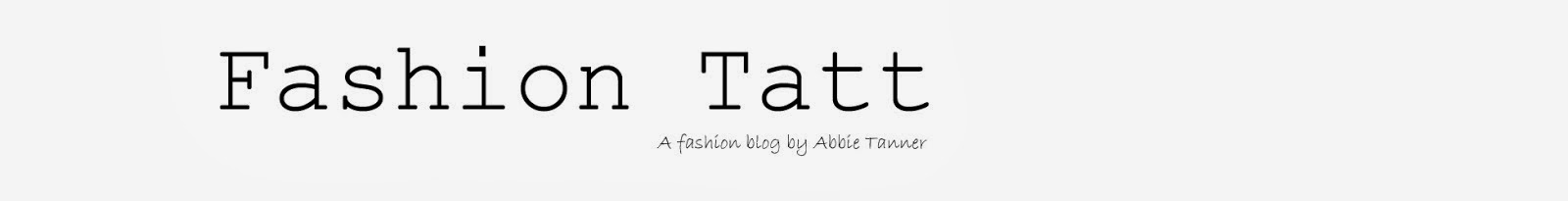 FASHION TATT