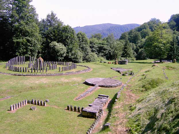 Dacian Fortresses of the Orastie Mountains Romania