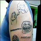 parceiro, VDM, cotovelo de formiga, arrependimento de fazer uma tatoo
