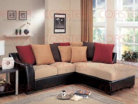 sevenmazon funiture store sofa brown finish 85 1 2 lx38 wx21 h