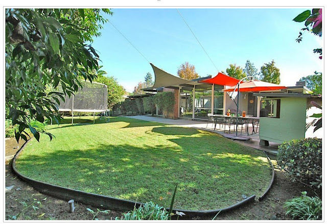 Pretty decent size eichler lot