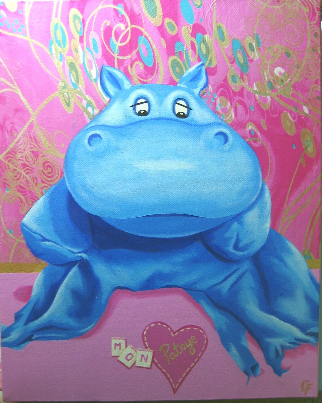 L 39 atelier de carine fortier d coration chambre enfant tableau b b tableau doudou - Decoration chambre psychedelique ...