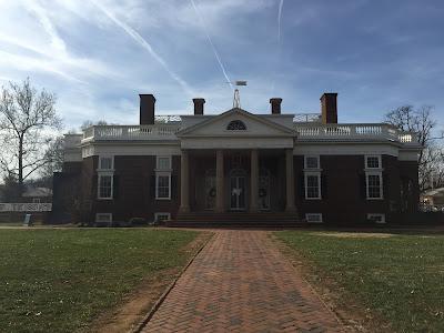 architect design Thomas Jeffersons Monticello