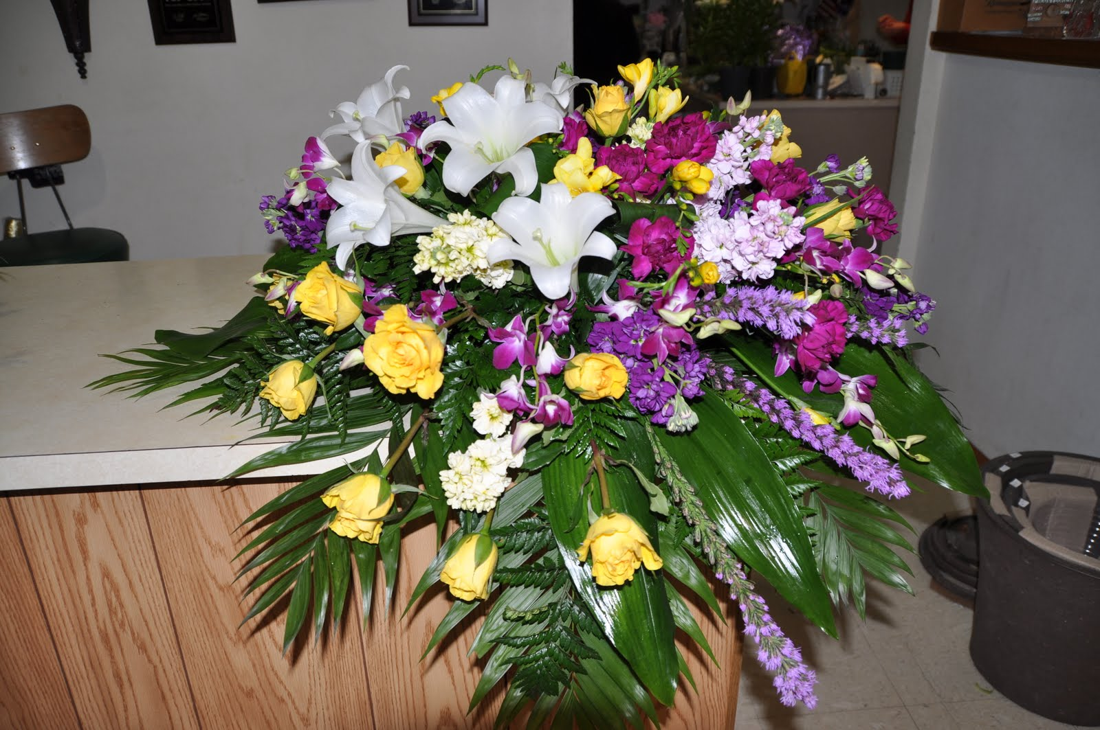 Mioux Florist new Funeral flower arrangements