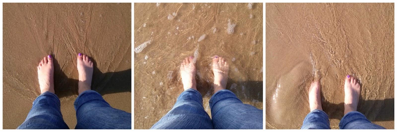 In oktober met de voeten in zee