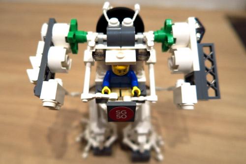 SG50 Lego Robot Creation