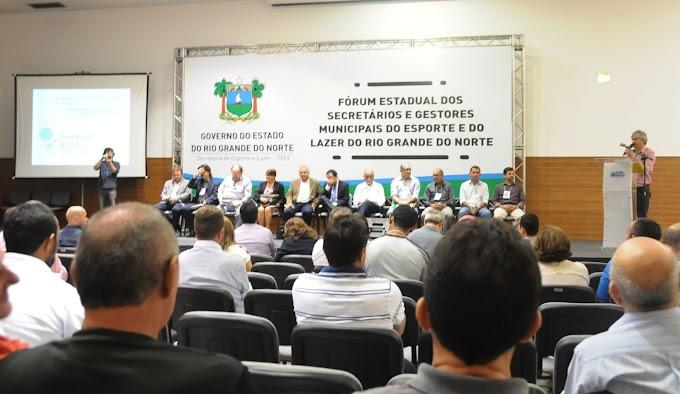 RN: Fórum estadual de gestores propõe integração do Esporte com a Educação