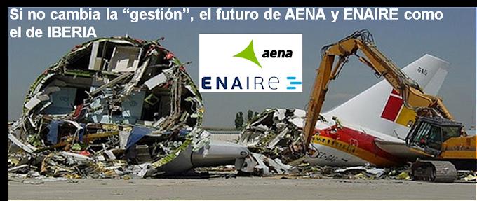 AENA/ENAIRE CONDENADAS AL DESGUACE POR EXTERNALIZACION