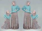 Baju Muslim Gamis Emily Mom Kids GC2151 HABIS