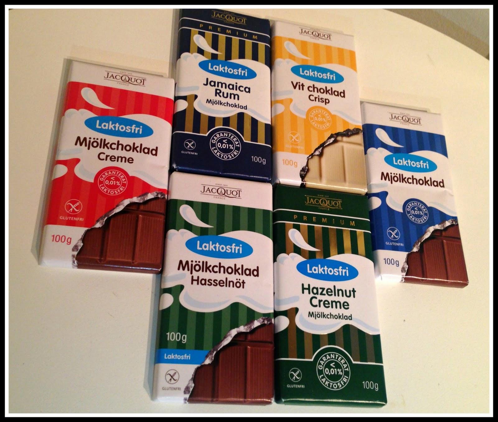 laktosfri choklad jacquot