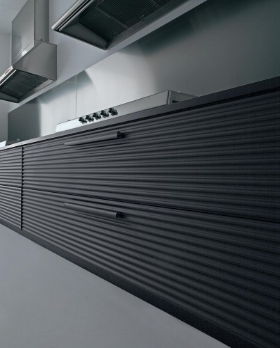 Aluminium Kitchen Design Conceptual Refined