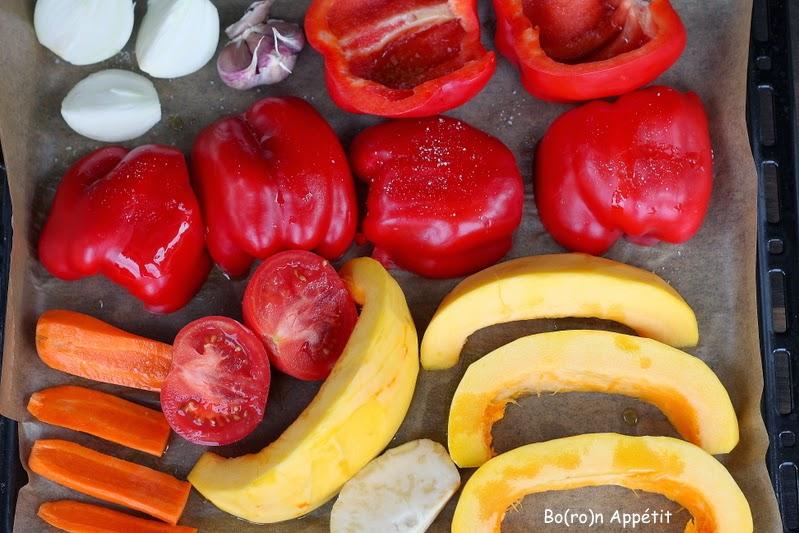 Zupa krem z pieczonych warzyw - przepis