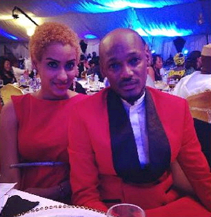 juliet ibrahim and 2face idibia