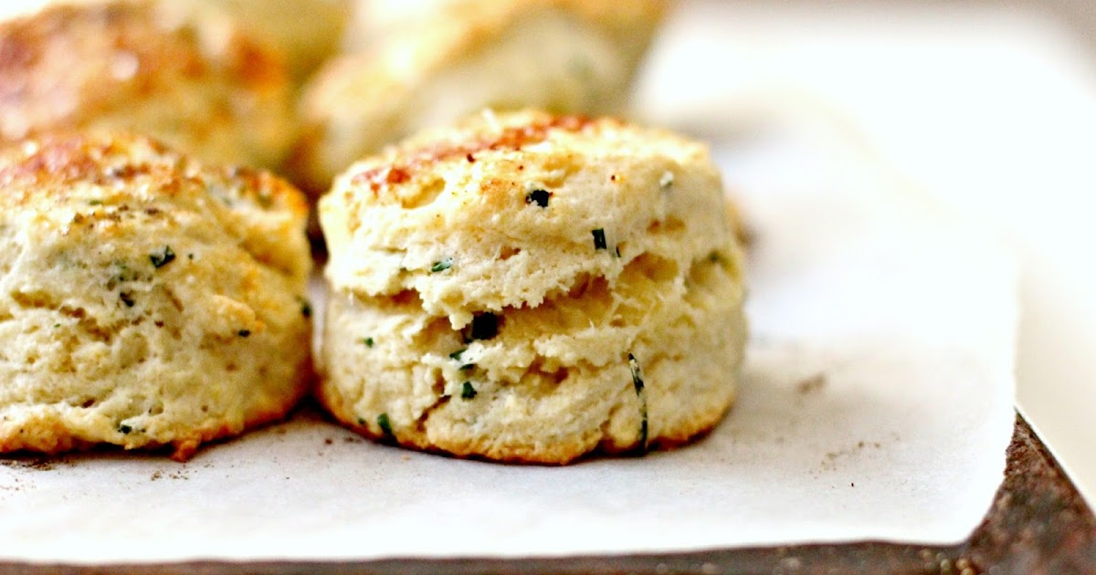 Milk and Honey: Goat Cheese, Chive and Mascarpone Scones