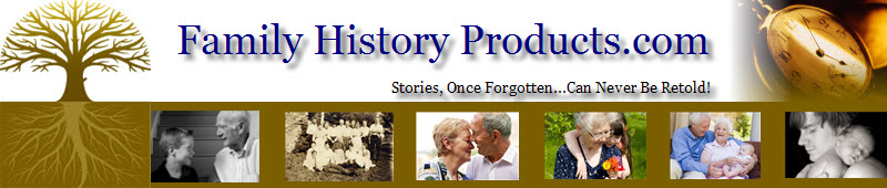 Compile Your Family History for Your Family Memories